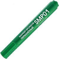 Маркер перманентный, 2-3 мм, пулевидный SPONSOR, зеленый
