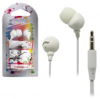Наушники SmartBuy Color Trend SBE-1200, белый