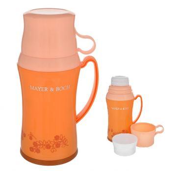 Термос с двумя чашками Mayer & Boch 600 мл оранжевый