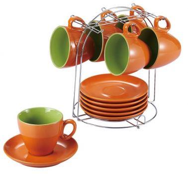 Чайный сервиз Wellberg Colore 13 предметов