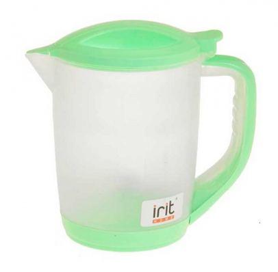 Чайник электрический Irit, 1.2 л, зеленый