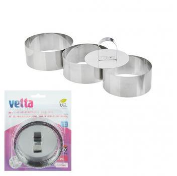 Набор форм для приготовления салатов\десертов Vetta 4 предмета