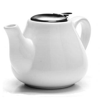 Чайник заварочный керамика Loraine 600 мл белый