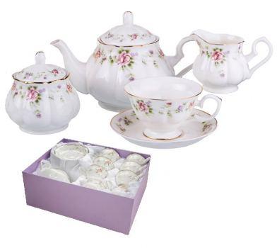 Набор чайный 15 предметов BEATRIX Флориана