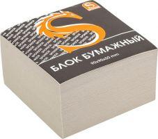Блок бумажный, офсет №2, размер 9х9х5 см