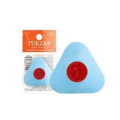 Ластик треугольник с пластиковым держателем 38 мм TZ04