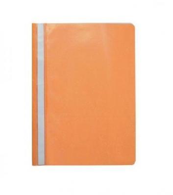 Папка-скоросшиватель прозрачный верх, А4, пластик, SPONSOR, оранжевый
