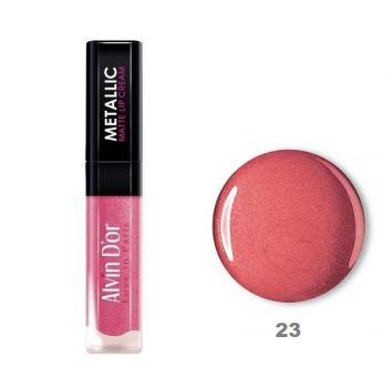 Блеск для губ Alvin D`or Metallic Matte Lip Cream LG 8, тон 23