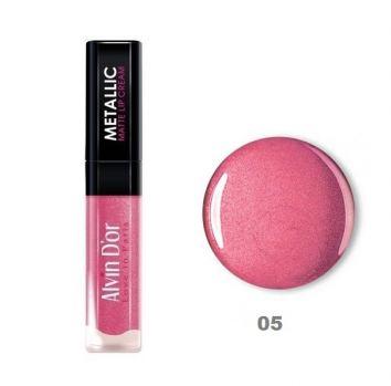 Блеск для губ Alvin D`or Metallic Matte Lip Cream LG11, тон 05