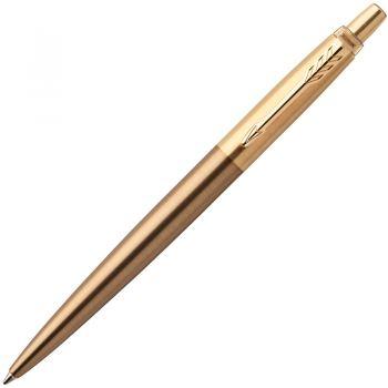 Ручка шариковая автоматическая, 1 (M) мм, синий цвет чернил PARKER, JOTTER PREMIUM WEST END BRUSHED GT