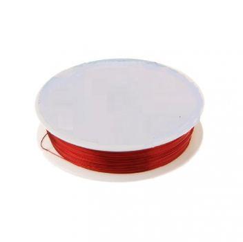 Проволока для бисера металл №03, 10 м, красный