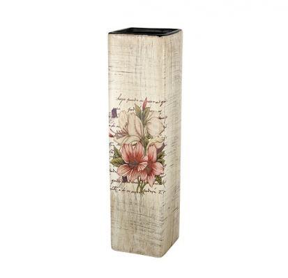 Ваза для цветов керамика Корал Фрезия, 29,5 см