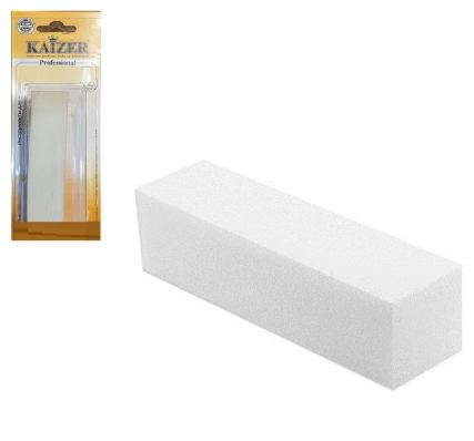 Баф шлифовочный 4-сторонний Kaizer, 150, белый