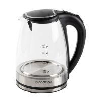 Чайник электрический, стеклянный ENDEVER, 1,8 л