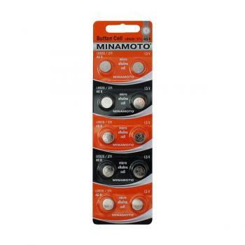 Батарейка для часов Minamoto AG6, LR920, alkaline, 1шт