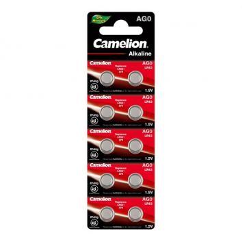 Батарейка для часов Camelion AG0, LR521, alkaline, 1 шт