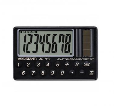 Калькулятор карманный Assistant AC-1110