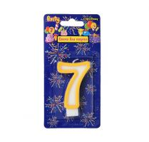 Свеча для торта нумерологическая 7