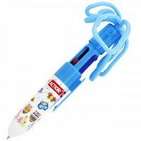 Ручка шариковая автомат многоцветная, 0,7 мм, (зеленый, красный, синий, черный) ACTION!