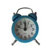Часы-будильник металл Irit IR-603, синий