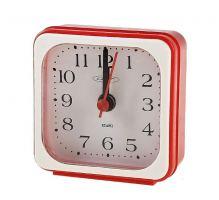 Часы-будильник пластик Салют 3Б-А4-510, красный