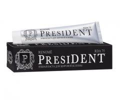 Зубная паста отбеливающая President Renome 75 мл