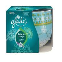 Ароматическая свеча Glade Горные цветы 120 г