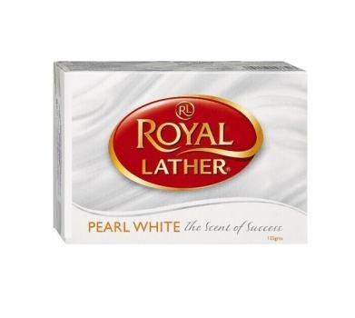 Мыло туалетное Белый жемчуг Royar Lather 125 г
