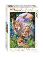 Пазлы 3000 Лесные друзья Step puzzle, 1160x850 мм