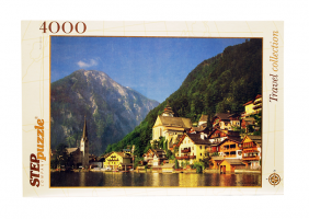 Пазлы 4000 Австрия Хальсштадт Step puzzle, 1360x960 мм