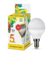Лампа светодиодная ASD LED Шар 5Вт Е14 230В 3000К