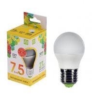 Лампа светодиодная ASD LED Шар 7.5Вт Е27 230В 3000К