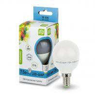 Лампа светодиодная ASD LED Шар 7.5Вт Е14 230В 4000К
