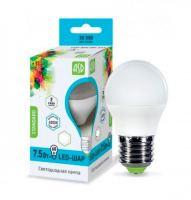 Лампа светодиодная ASD LED Шар 7.5Вт Е27 230В 4000К