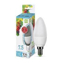 Лампа светодиодная ASD LED Свеча 7.5Вт Е14 230В 4000К