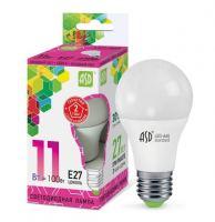Лампа светодиодная ASD LED A60 11Вт Е27 230В 6500К