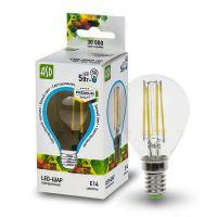 Лампа светодиодная ASD LED Шар 5Вт Е14 230В 3000К, прозрачная