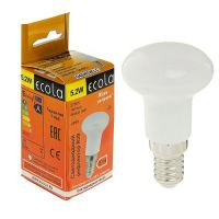 Лампа светодиодная Ecola LED R39 5.2Вт 230В E14 2700К
