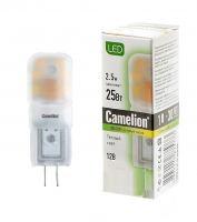 Лампа светодиодная Camelion LED2.5-JS-SL/2.5Вт/G4/12В/3000 K