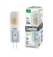 Лампа светодиодная Camelion LED2.5-JS-SL/2.5Вт/G4/12В/4500 K