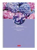 Тетрадь общая А4 клетка Красота цветения 96 листов