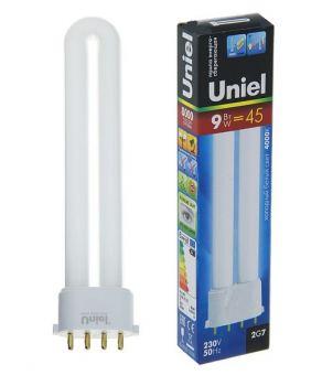 Лампа энергосберегающая Uniel 11В 2G7 4000К