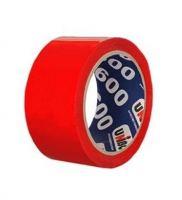 Скотч упаковочный красный Unibob 48 мм х 66 м