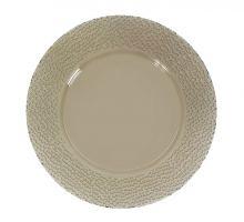 Тарелка плоская стекло Pasabahce Броунз 24 см