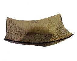 Конфетница стекло Vellarti 180*180 см бронза