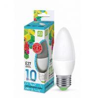 Лампа светодиодная ASD LED Свеча 10Вт Е27 230В/4000К