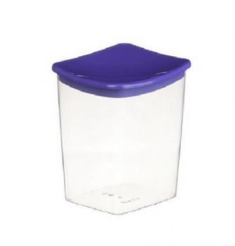 Контейнер для сыпучих продуктов пластик Idea 1 л фиолетовый