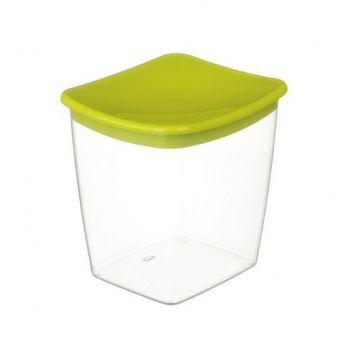 Контейнер для сыпучих продуктов пластик Idea 1 л салатовый