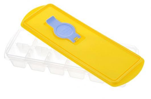 Форма для льда с крышкой пластик Idea Кубики