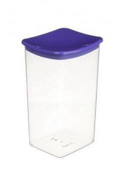 Контейнер для сыпучих продуктов пластик Idea 1,9 л фиолетовый
